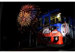 H26花火列車
