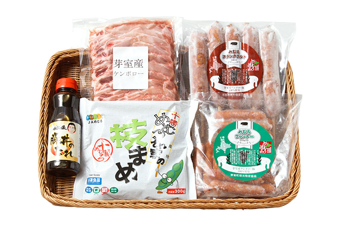 特産品詰め合わせ(ケンボロー豚丼セット)