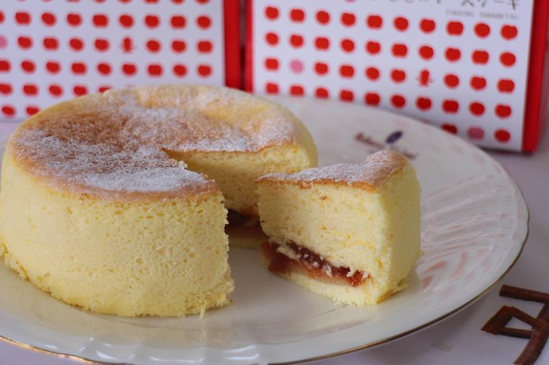 すもものチーズケーキ