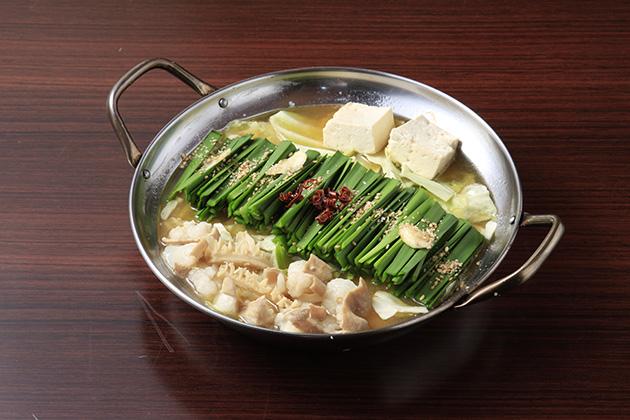 人気商品の「もつ鍋」