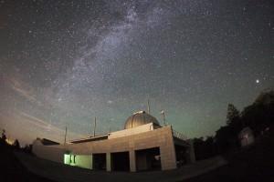 銀河の森天文台と天の川