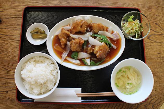 中国菜館 翡翠樓 日替わりランチセット