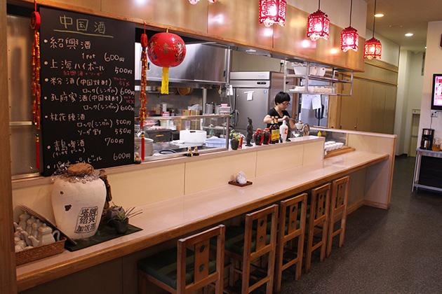 中国菜館 翡翠樓 店内