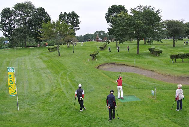毎年9月には全日本オープンパークゴルフ大会inさらべつを開催